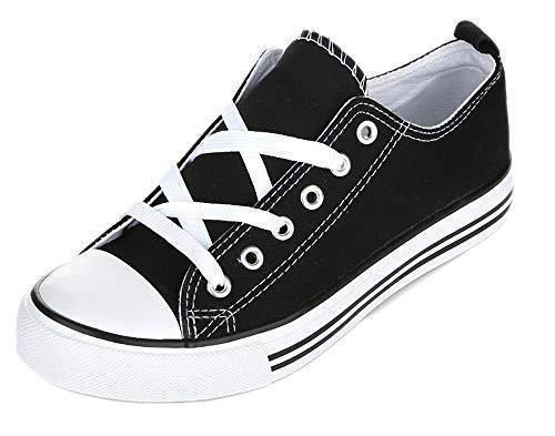 Daily Steals-Kids Slip On Canvas Shoes-Accessories-Black / White-1 Little Kids-