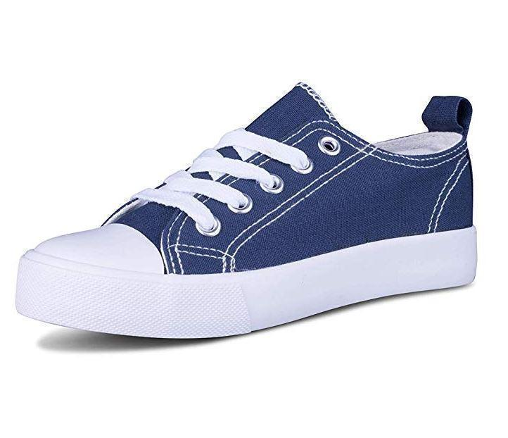 Daily Steals-Kids Slip On Canvas Shoes-Accessories-Navy-1 Little Kids-