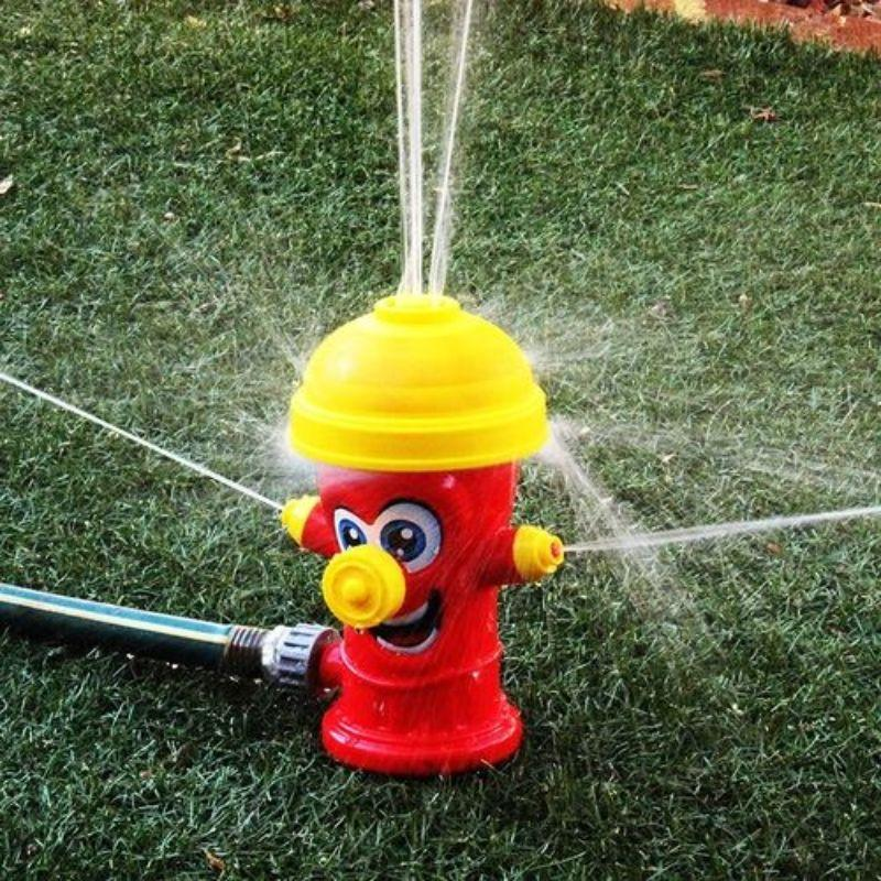 Kids Splash Fire Hydrant Sprinkler for Yard-