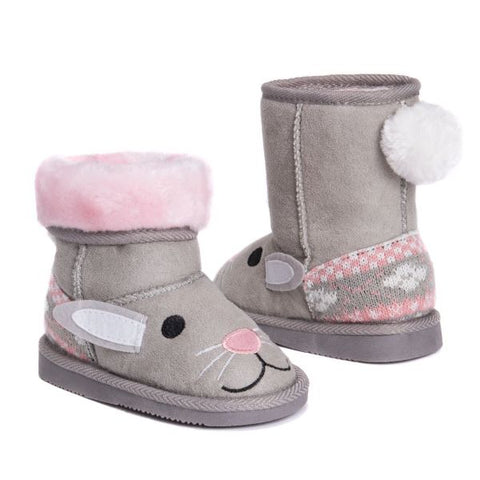 MUK LUKS Kids Trixie Bunny Boots-8-Daily Steals