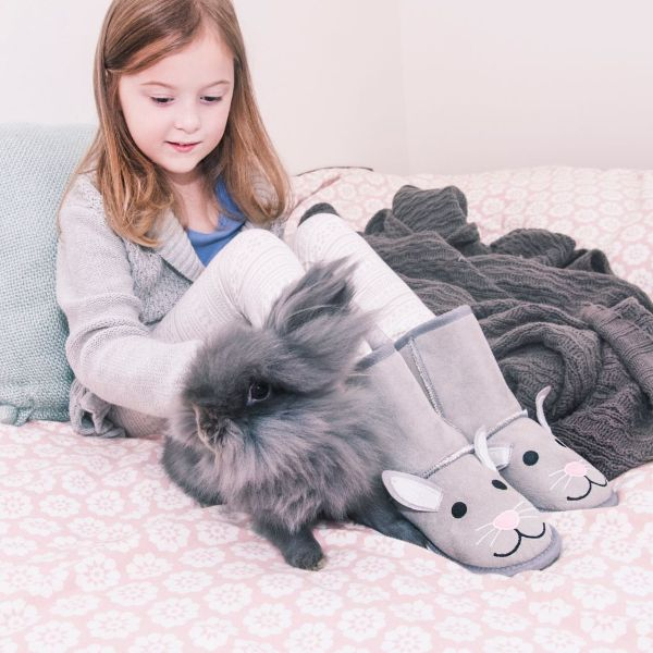 MUK LUKS Kids Trixie Bunny Boots-Daily Steals