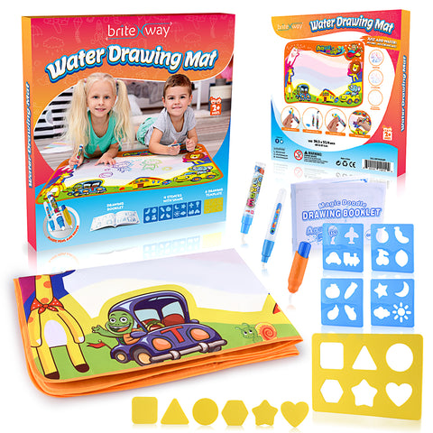 Daily Steals-Ultimate Water Drawing Mat for Little Boys & Girls [34.5'' X 22.5'']-Hobby and Toys-