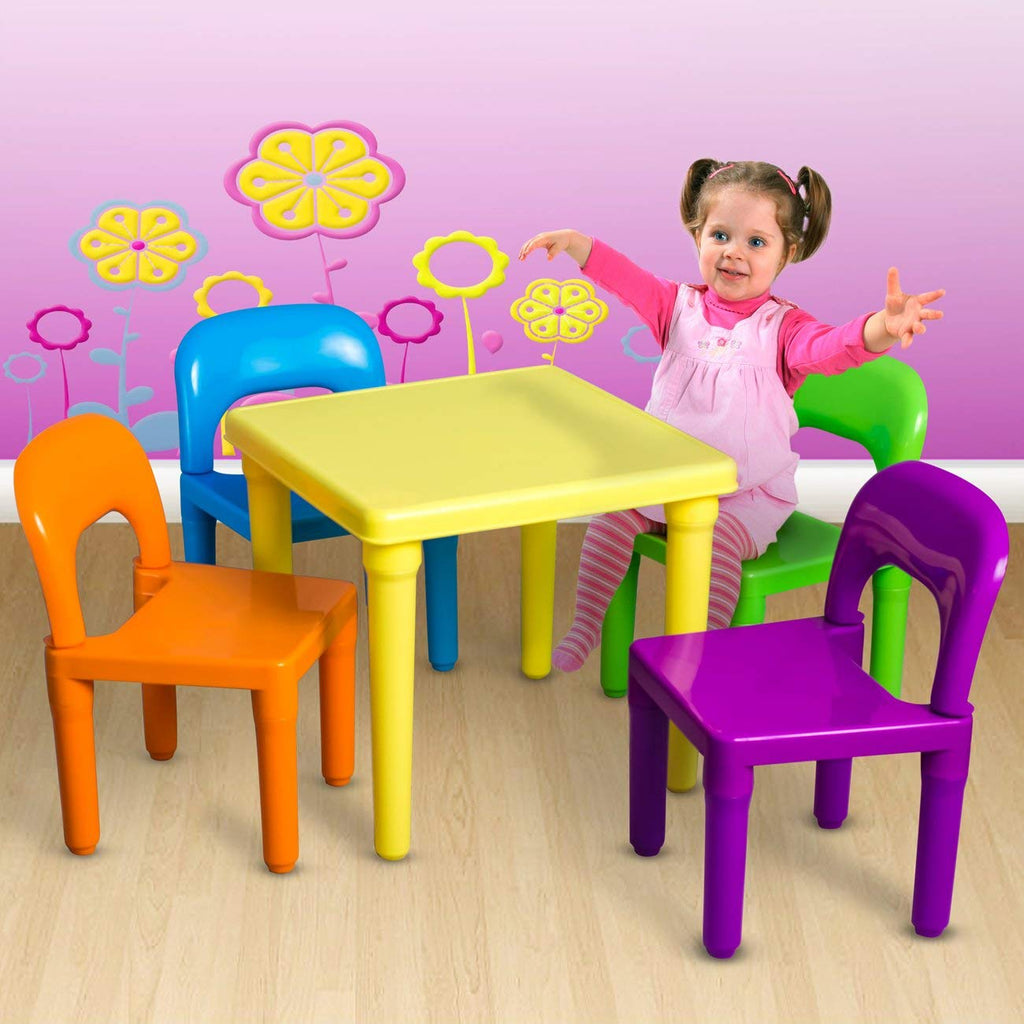 Awesome Den Haven Kids Chair And Table Set Machost Co Dining Chair Design Ideas Machostcouk