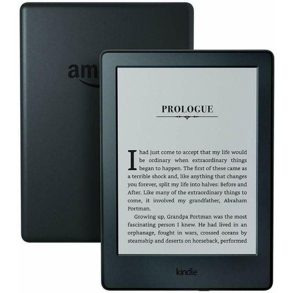 "Kindle E-reader 8th Generation - 6"" Display, Wi-Fi, Built-In Audible-"