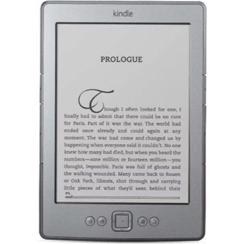 "Daily Steals-Kindle, 6"" E Ink Display, Wi-Fi - Includes Special Offers (Graphite)-Tablets-"