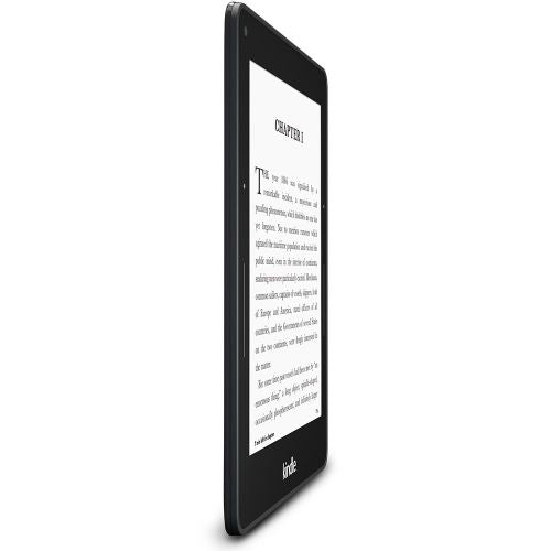 "Daily Steals-Kindle Voyage E-reader, 6"" High-Resolution Display (300 ppi) with Adaptive Built-in Light - with Special Offers-Tablets-Wi-Fi Only-"