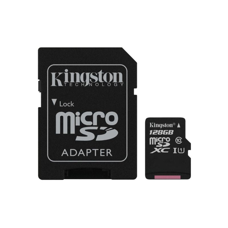 Kingston Canvas Select 128 Go MicroSDHC Class 10 MicroSD Memory Card-Daily Steals