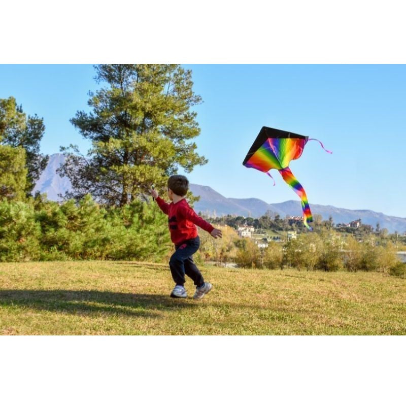 Extra Large Rainbow Kite For Kids-Daily Steals