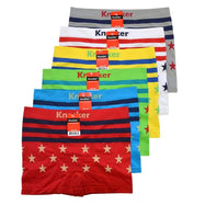 Knocker Men's Seamless Boxer Briefs Underwear One size Fits Most - 6 Pack-Stars-Daily Steals