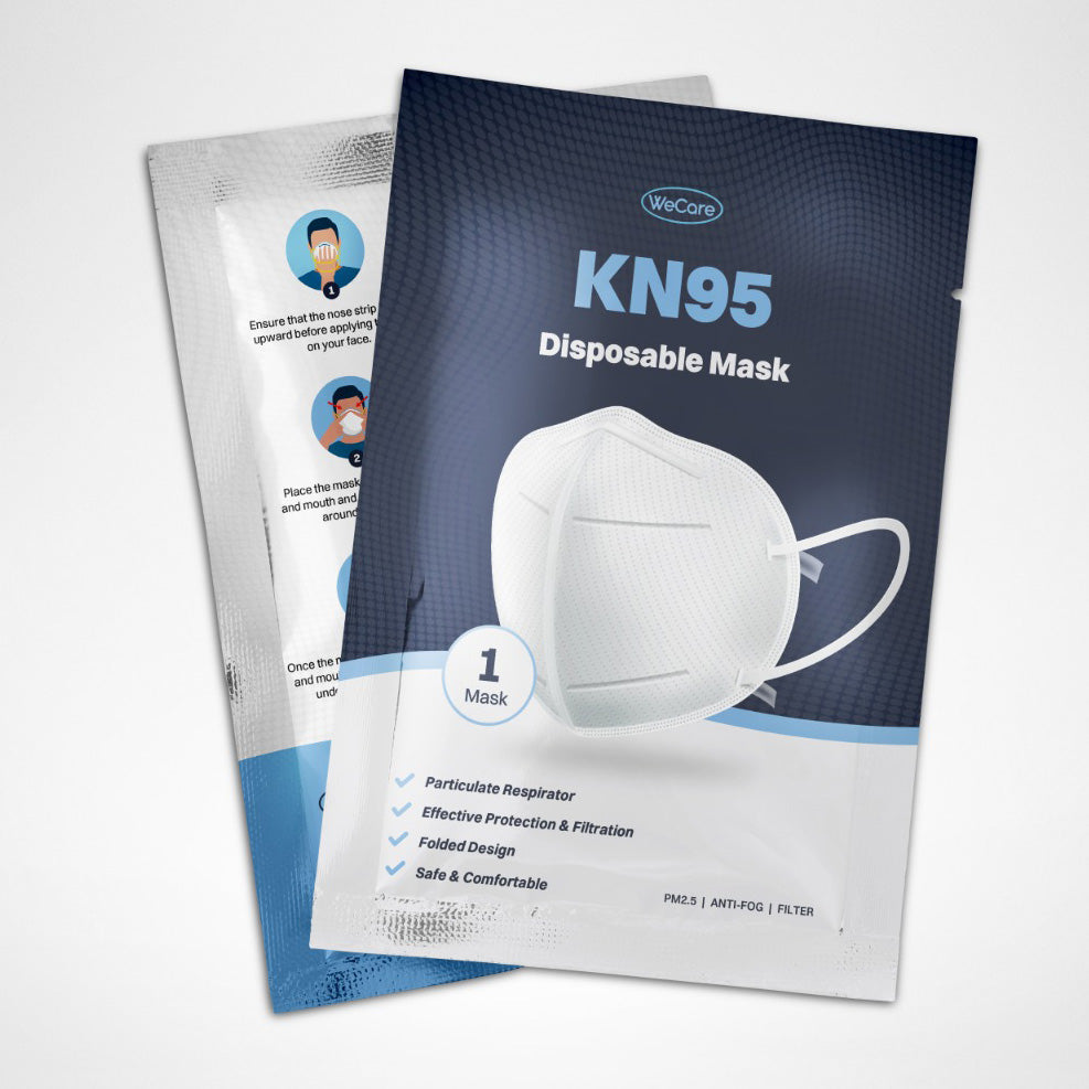 WeCare KN95 Disposable Face Mask-Daily Steals
