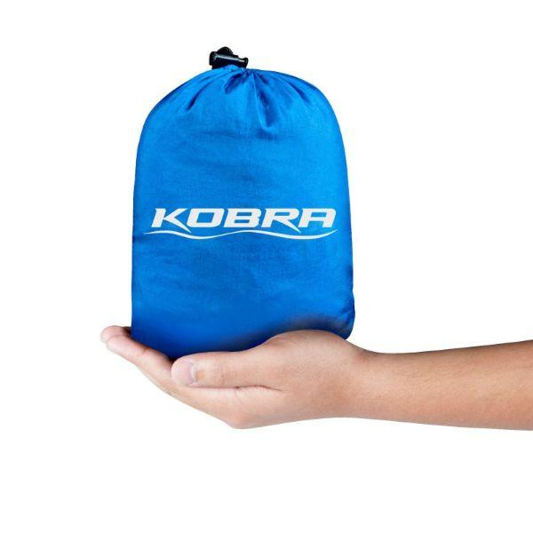 Daily Steals-Kobra Nylon Parachute Hammock with Ropes and Carabiner Hooks-Outdoors and Tactical-