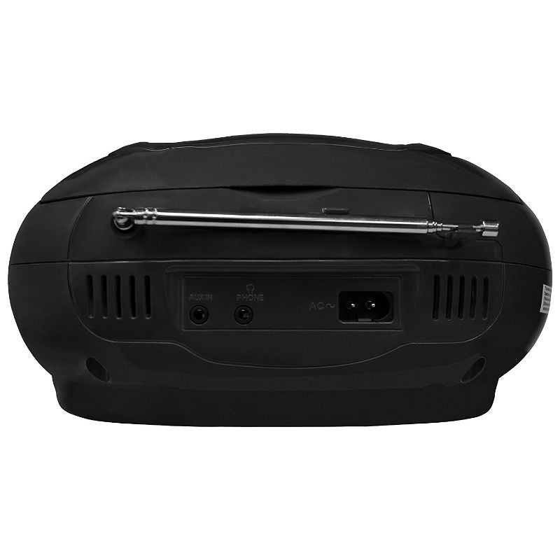 KORAMZI Portable CD Boombox with AM/FM Radio, AUX-IN, and LCD Display