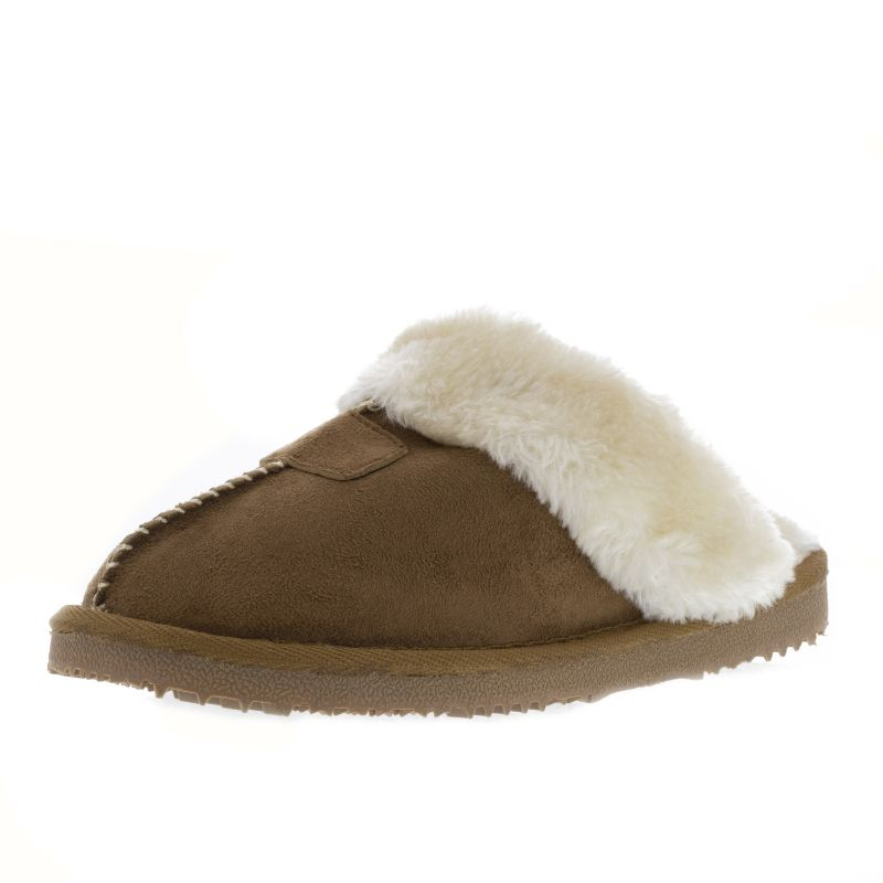 Colette Slipper-Brown-7M-Daily Steals de Kreated Equal ultra confortable