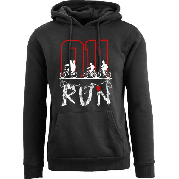 Women's Best of Stranger Things Hoodie-011 Run - Black-S-Daily Steals