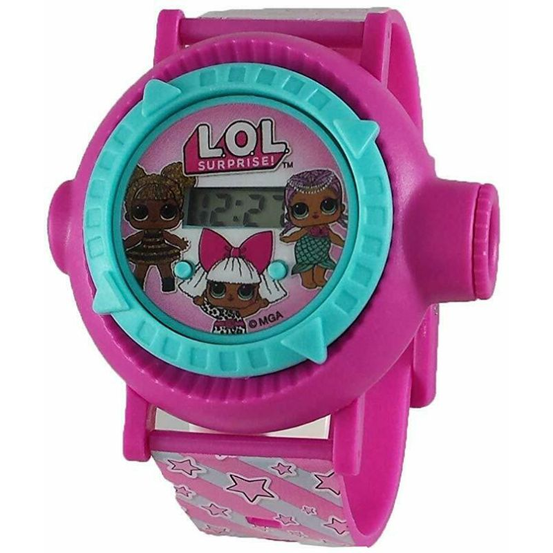 L.O.L. Surprise! Girl's Pink Digital Projection Watch-Daily Steals