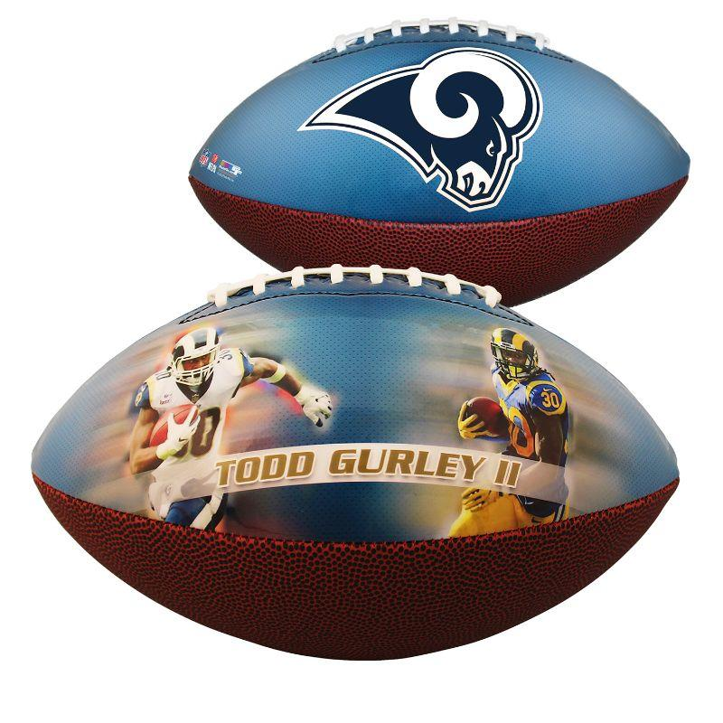 LA Rams - Todd Gurley - Souvenirs Sports Football - Un vol quotidien