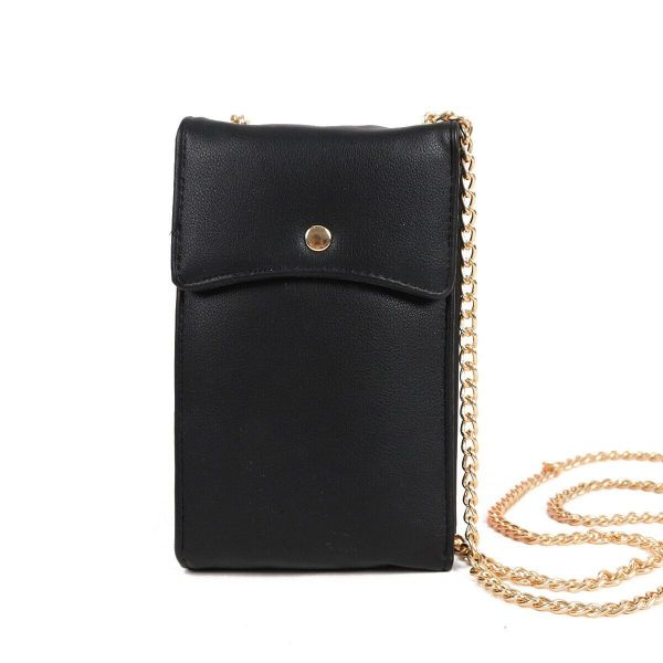 Ladies Multipurpose Wallet Bag-Black-Daily Steals