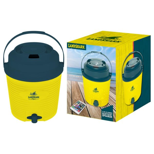 Margaritaville or Landshark Drink Dispensing Cooler with Speaker-Landshark-Daily Steals