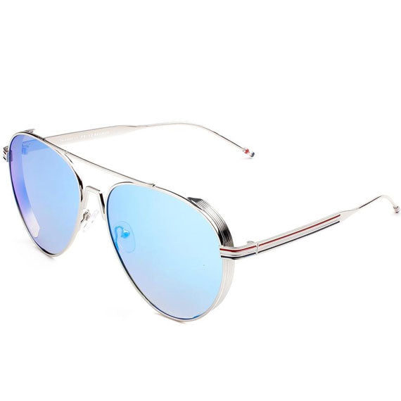 "PRIVÉ REVAUX ICON Collection ""The G.O.A.T"" Designer Polarized Aviator Sunglasses-Blue-Daily Steals"