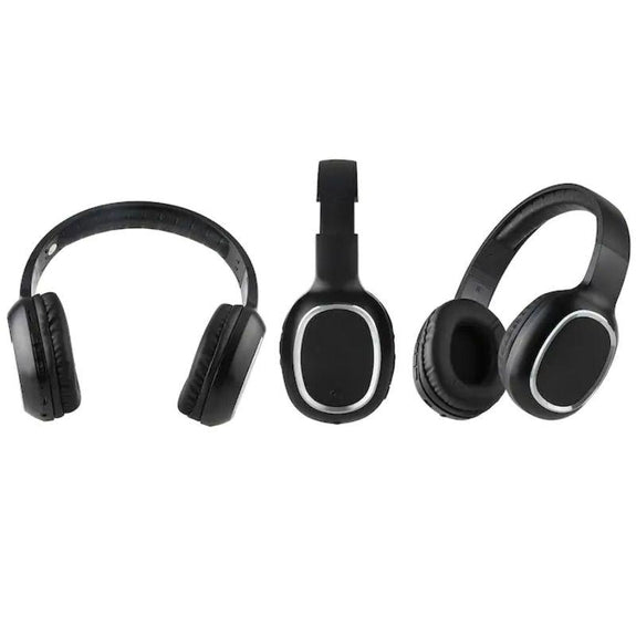 Laud Over-the-Ear Wireless Bluetooth Headphones-Black-Daily Steals