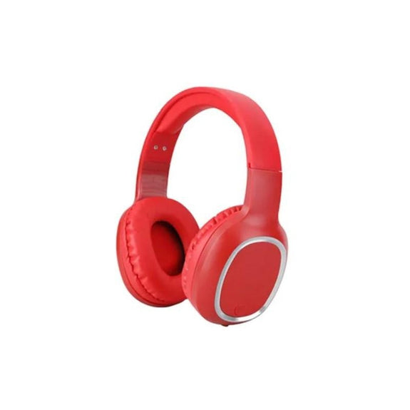 Laud Over-the-Ear Wireless Bluetooth Headphones-Red-Daily Steals