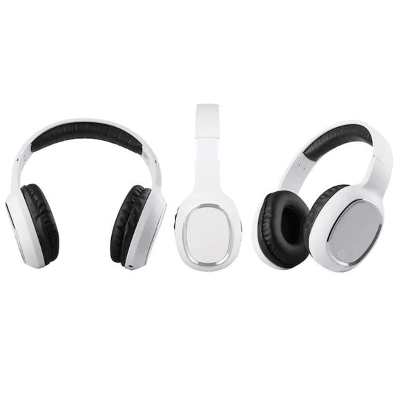 Laud Over-the-Ear Wireless Bluetooth Headphones-White-Daily Steals