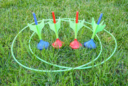 Glow In The Dark Lawn Dart Set - Carrying Bag Included-Daily Steals