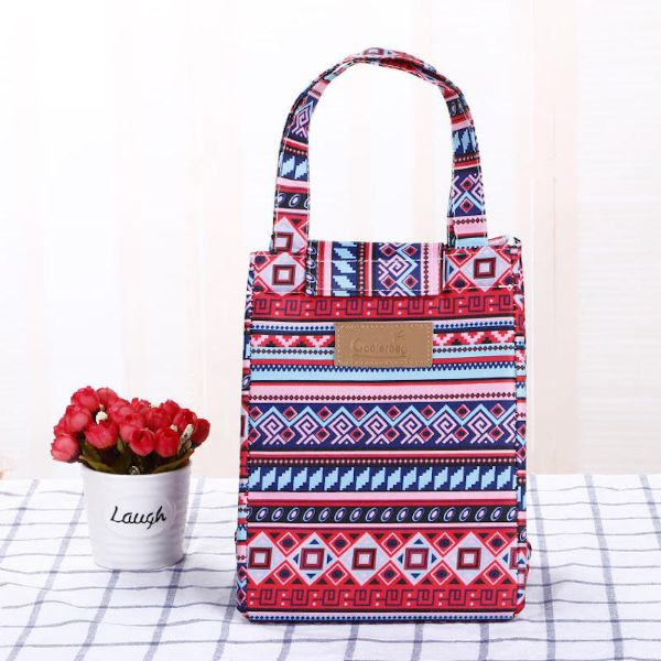 Insulated Lunch Bag – Assorted Styles-Aztec-Daily Steals