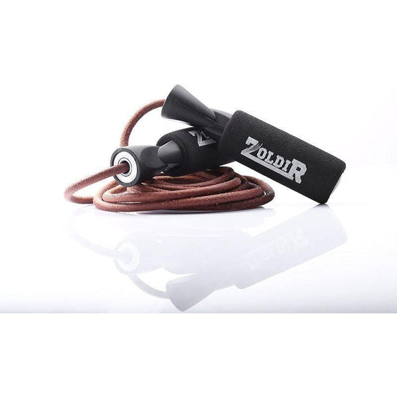 Leather Jump Rope Skipping Rope for Cardio Fitness-
