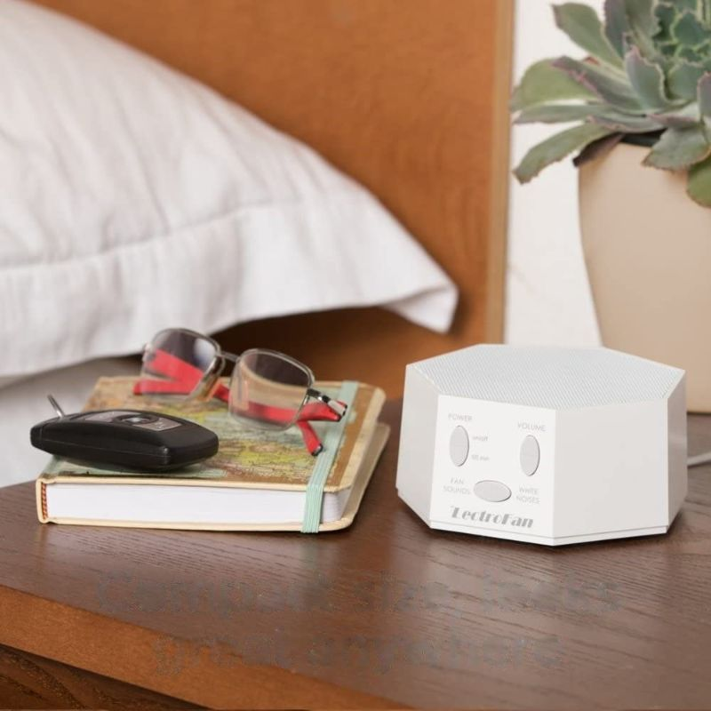LectroFan Premium White Noise Sound Machine with 20 Unique Non-Looping Sounds