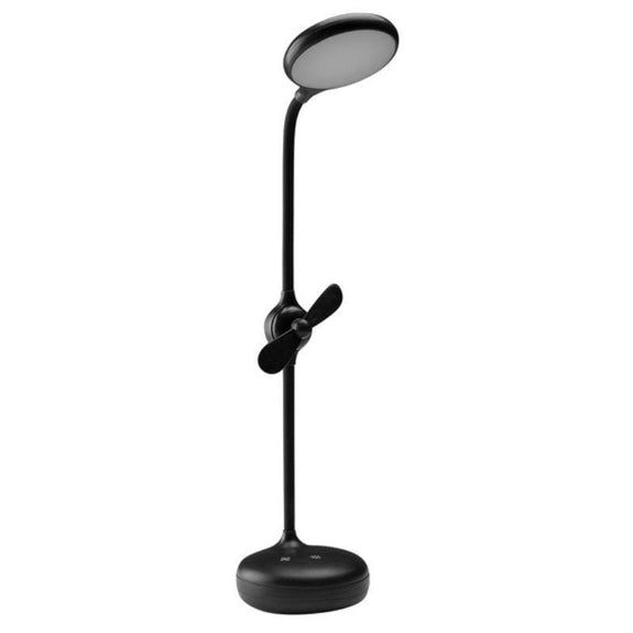 LED Desk Lamp with Fan-Daily Steals