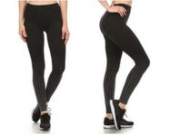 Women's Active Fleece Lined Performance Leggings - 4-Pack-S/M-Daily Steals