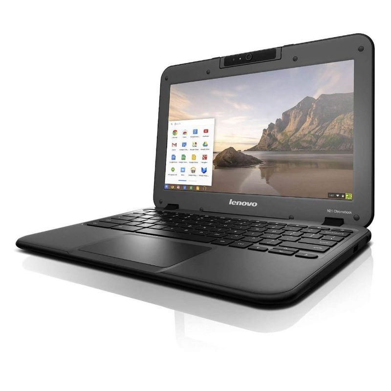 "Lenovo N21 11.6"" LED Chromebook Intel Celeron 2.16GHz Dual Core 4GB 16GB SSD-Daily Steals"