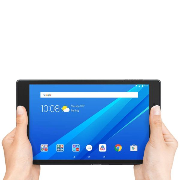 "Daily Steals-Lenovo Tab 4, 8"" Android Tablet, Quad-Core Processor, 1.4GHz, 16GB Storage, Slate Black-Tablets-"