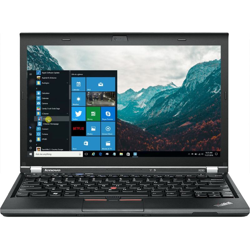 Lenovo Thinkpad X230 12,5-tums bärbar dator, Windows 10 Pro