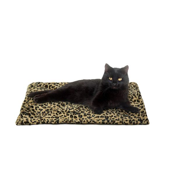 FurHaven ThermaNAP Self Warming Heating Pet Mat-Leopard-Daily Steals