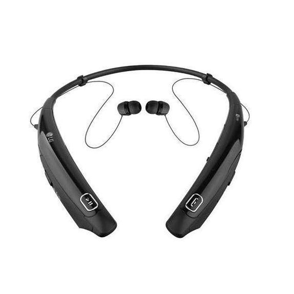 LG Tone Pro Bluetooth Stereo Headphones with Behind-The-Neck Design-Black-Daily Steals