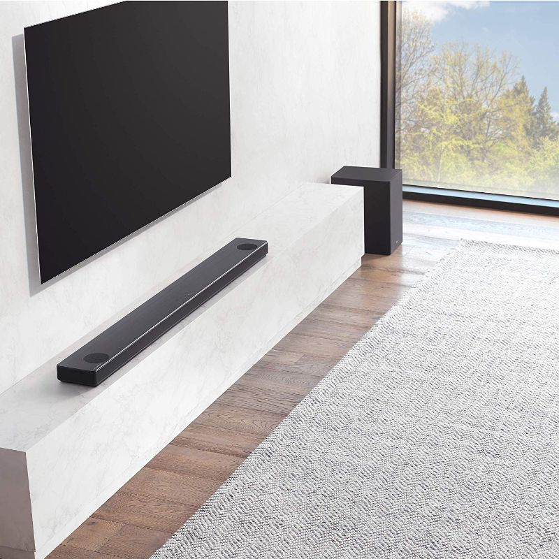 LG Channel High Res Audio Sound Bar w/Meridian Technology & Dolby Atmos-Daily Steals