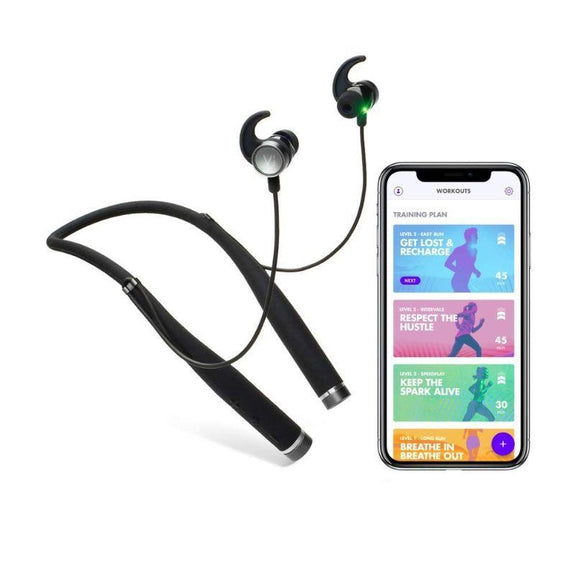 LifeBEAM Vi Sense Wireless Headphones with On-Demand AI Personal Trainer-Daily Steals
