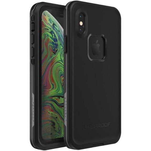 Lifeproof FRĒ SERIES Waterproof Case for iPhone Xs - Asphalt-