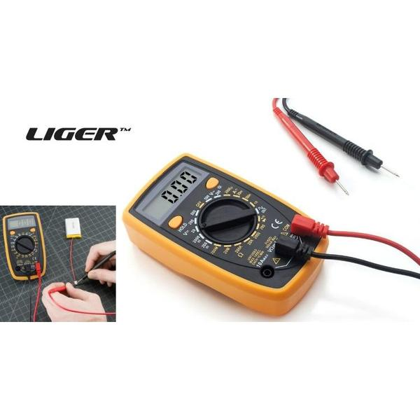 Digital Multimeter with AC/DC, Current, Voltage, Resistance, Ohm, and Amp-Daily Steals