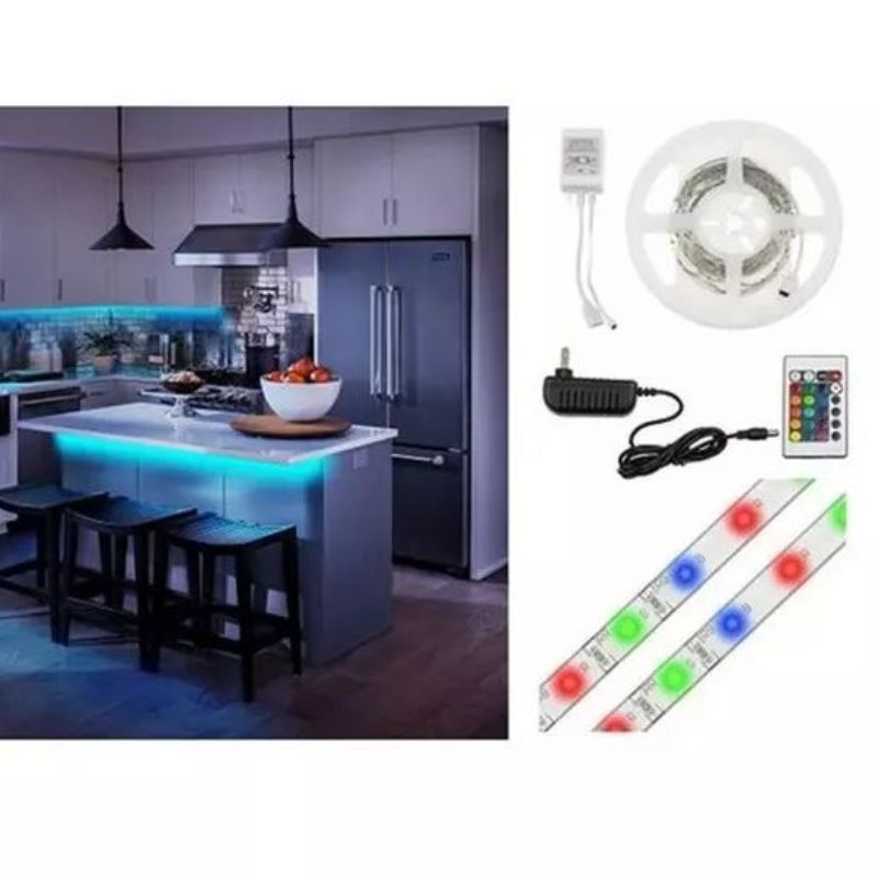 Liger 16 Feet Multi-color LED Light Strip with Remote Control