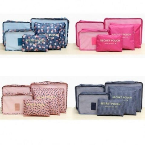 Lightweight Luggage Storage Bag Set - 4 Colors-Daily Steals