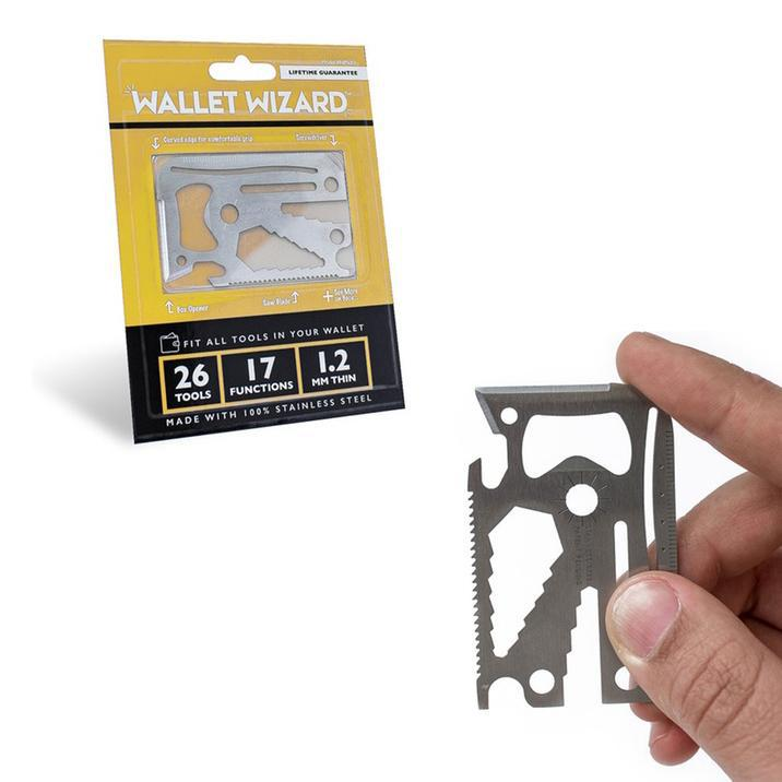 Wallet Wizard 26-In-1 Pocket Tool-Daily Steals