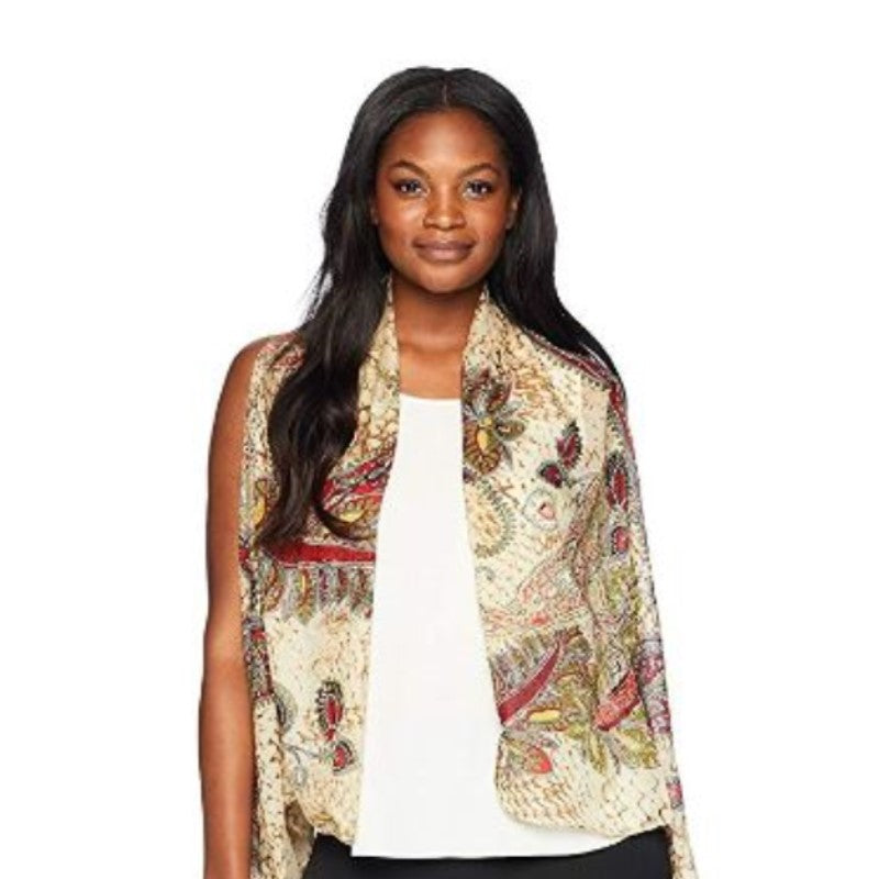 Accents by Lavello Sheer Designer Vest-1-Daily Steals