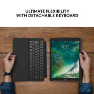 "Daily Steals-Logitech iPad Pro 12.9"" Slim Combo Case with Detachable Backlit Keyboard-Computer and Laptop Accessories-"