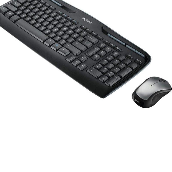 Logitech MK335 Wireless Combo Keyboard & M310 Mouse with USB Receiver-