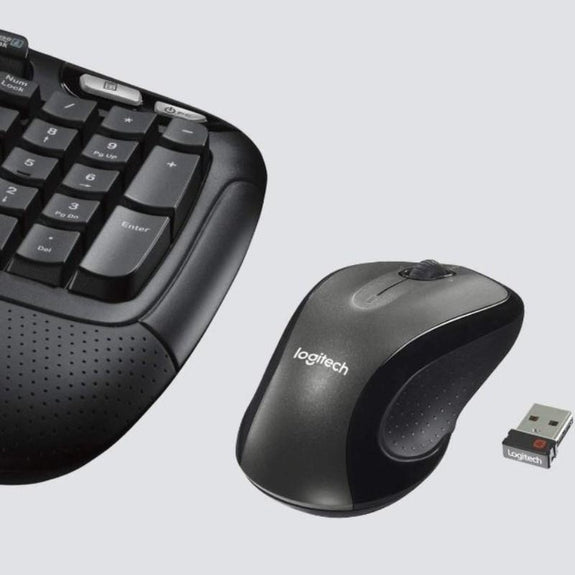 Logitech MK550 Wireless Wave Keyboard and Mouse Combo-