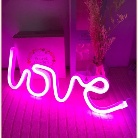 Daily Steals-LOVE LED Neon Light Sign-Home and Office Essentials-