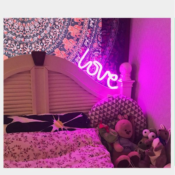 LOVE LED Neon Light Sign-Daily Steals